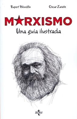 Marxismo una guía ilustrada de Woodfin y Zarate - comic marxismo comunismo edita Tecnos