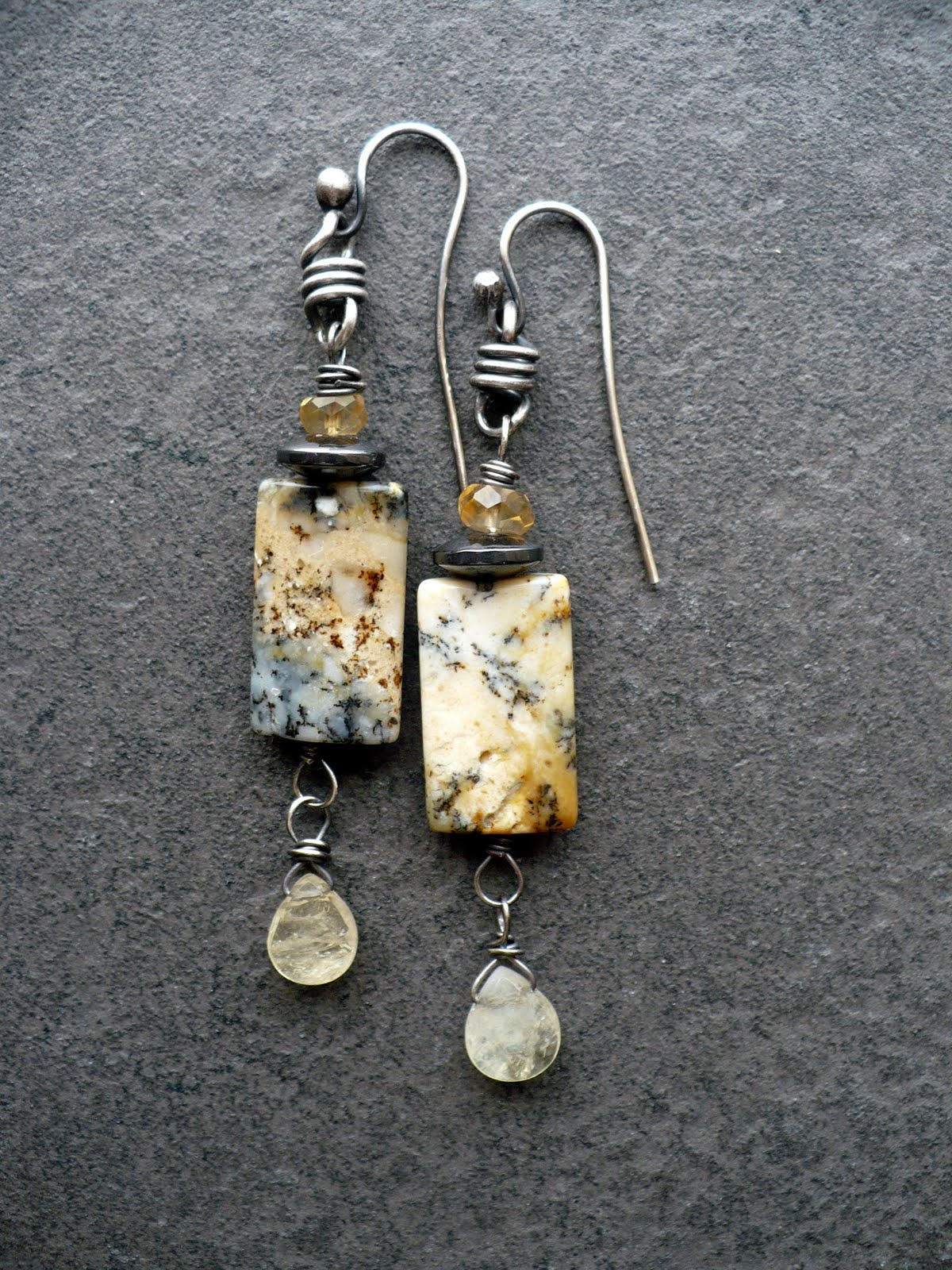 made earrings livewire jewelry melted and embrace 6748