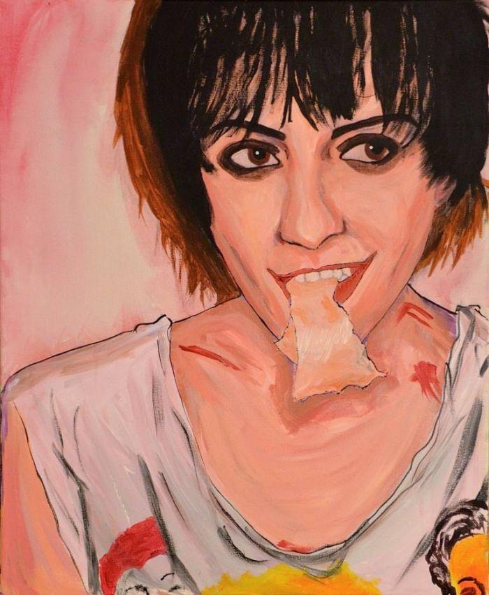Молодая австрийская художница. Silvia Knodlstorfer