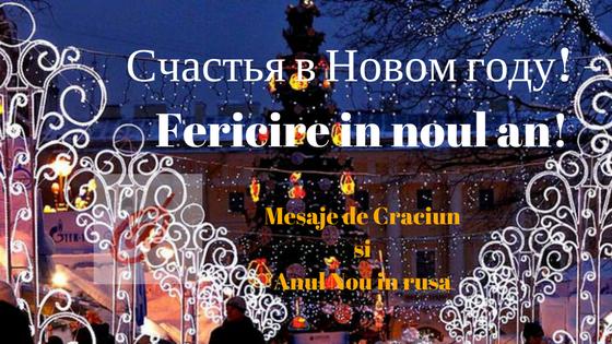 mesaje de anul nou in rusa traduse