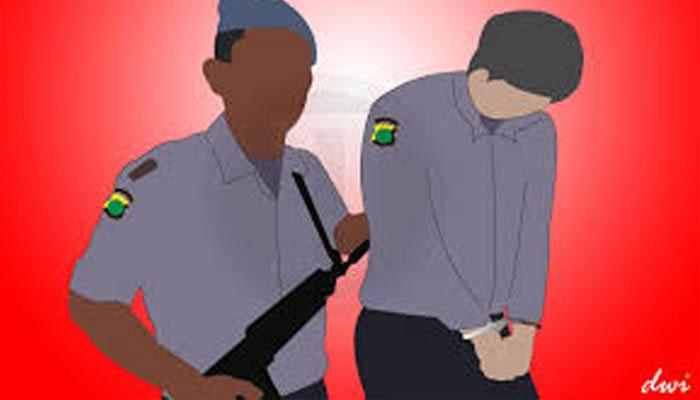 Ilustrasi penangkapan