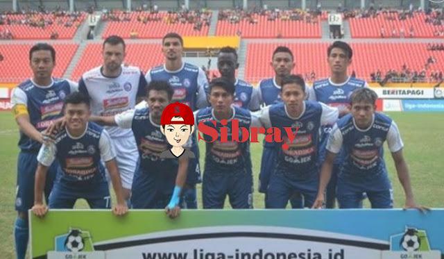 Arema FC Jadi Satu-Satunya Tim yang Belum Terkalahkan di Enam Laga Terakhir