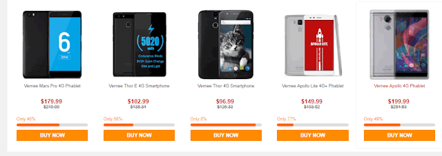 عروض رائعة من موقع GearBest في مختلف الاجهزة الاكترونية تصل الى 80 في المائة