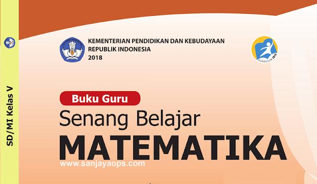 download buku guru matematika kelas 5 kurikulum 2013 revisi 2018 tahun 2019 2020