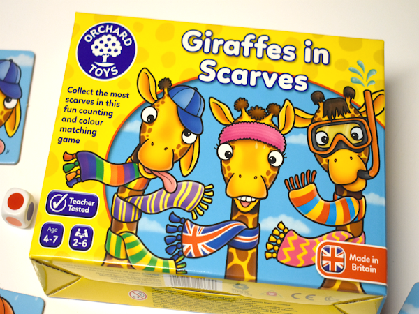 Giraffes In Scarves Game {Review}