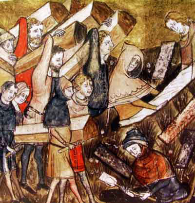 New research maps in unique detail the devastation of the Black Death on medieval England