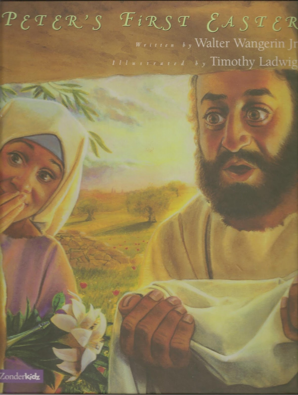 Peter's First Easter, by Walter Wangerin, is hard to find, but is my  favorite account of Easter told from Peter's point of view. Strong art and  story make ...