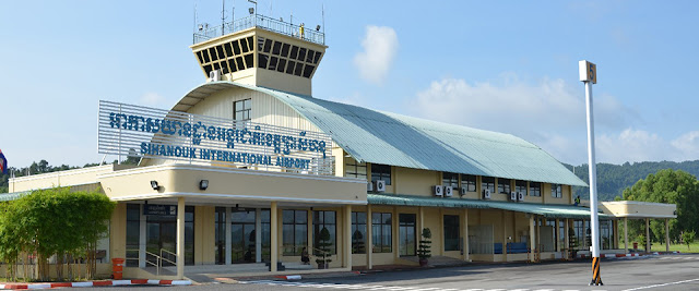 L'aéroport international de Sihanoukville