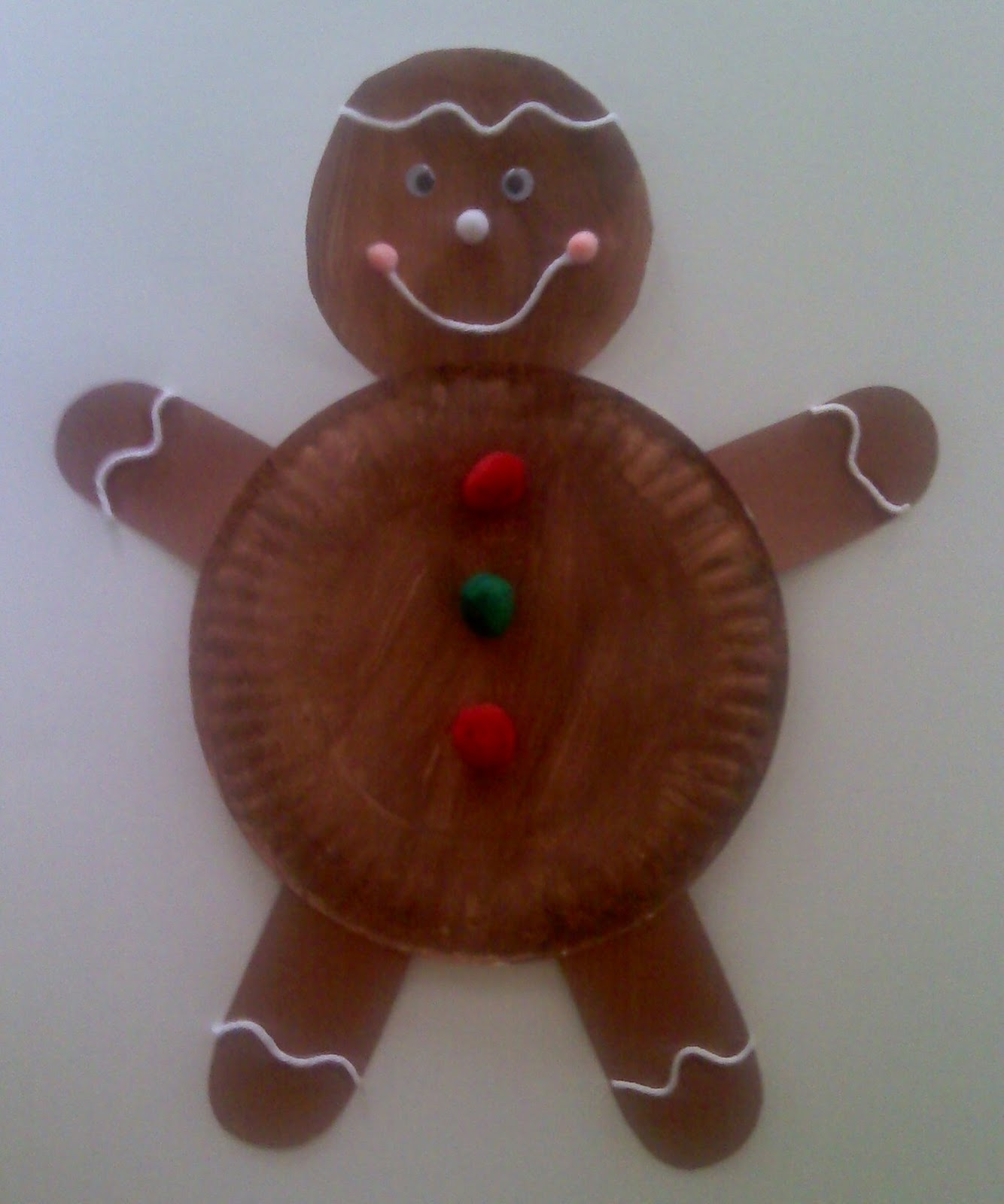 Gingerbread Man Art Activity 79