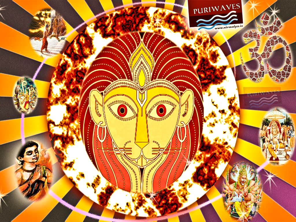 HD Wallpaper Dasavatar Narasingh – Narahari Rupa Jaya Jagadisa Hare