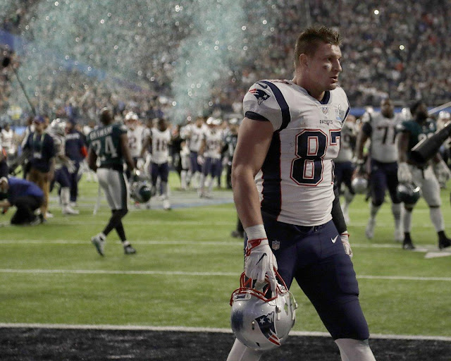 Burglary reported at home of Patriots tight end Rob Gronkowski after Super Bowl loss