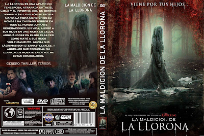 LA MALDICION DE LA LLORONA - THE CURSE OF LA LLORONA - 2019 [COVER - DVD - BLU RAY]