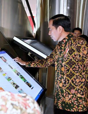 Presiden: Sebagian Dana Desa Digunakan untuk Bangun Perpustakaan