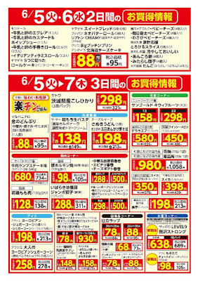 【PR】フードスクエア/越谷ツインシティ店のチラシ6/5(火)・6/6(水) 2日間のお買得情報