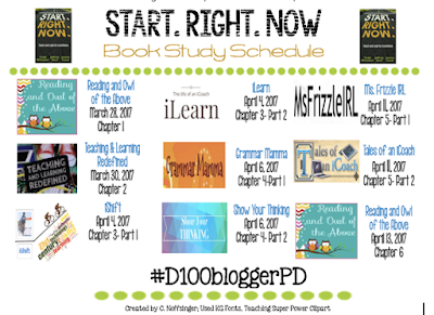 From Going to Showing: Start.Right.Now. #D100bloggerPD