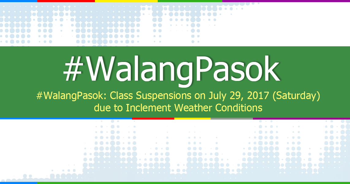 lgus warned for late class suspension announcement essay