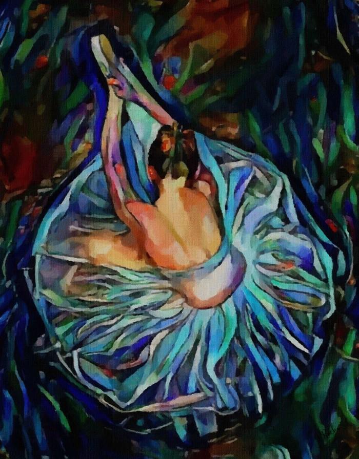 Работы, полные цветов и жизни. Lea Roche