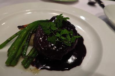 Pasta Brava, tenderloin chocolate red wine