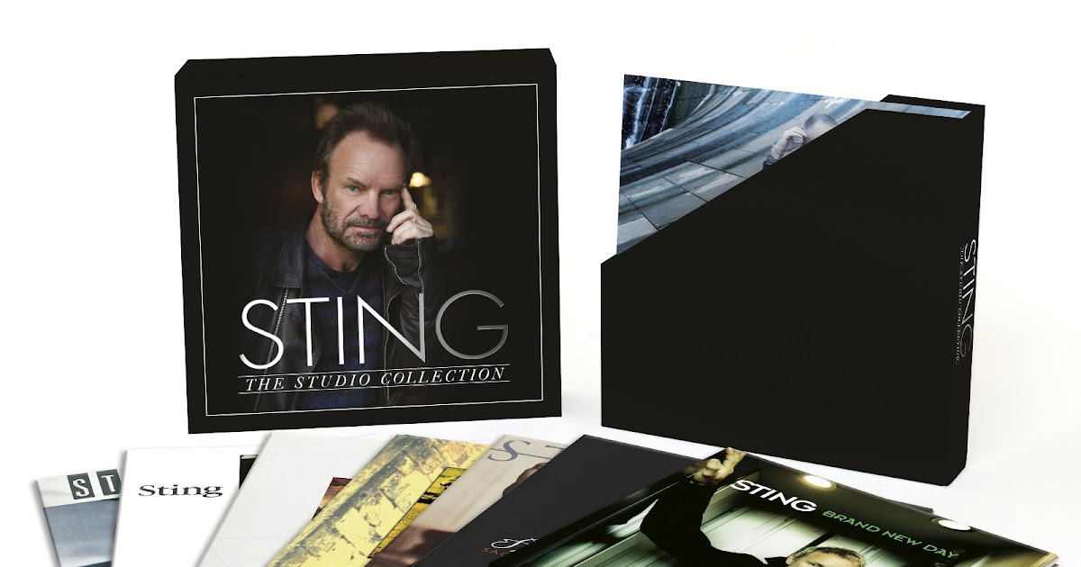 Jazz Chill Sting The Studio Collection Solo Career
