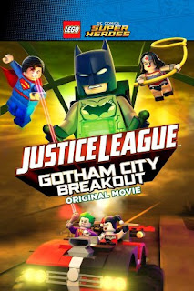 Poster do filme LEGO Liga da Justiça: Revolta em Gotham