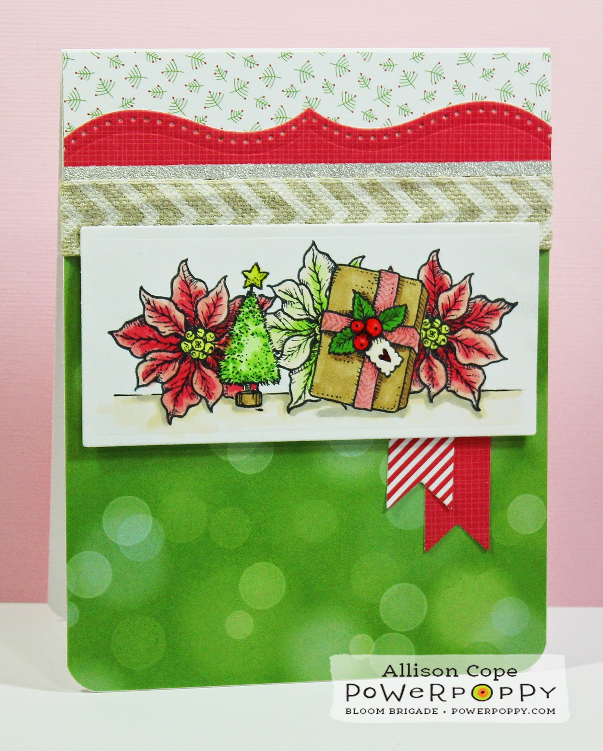 "Featuring ""Merry Littles"" from Power Poppy, by Allison Cope"