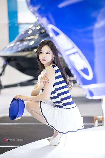 2 Han Ga Eun 2016 Korea International Boat Show - very cute asian girl-girlcute4u.blogspot.com