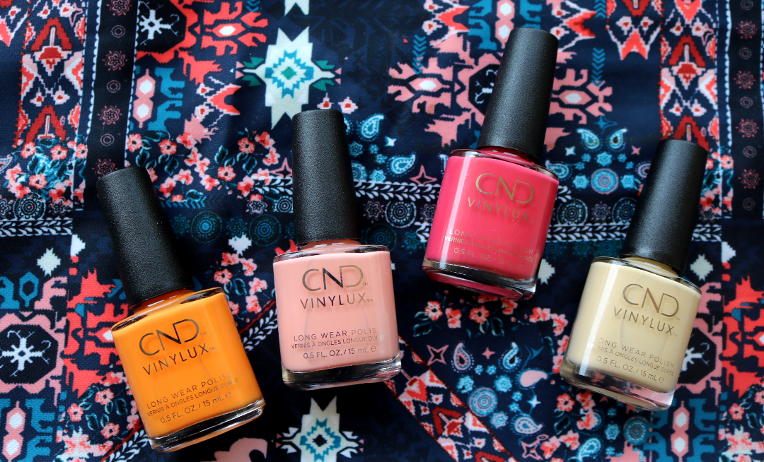 CND Vinylux Boho Spirit Summer 2018 Collection - Review & Swatches
