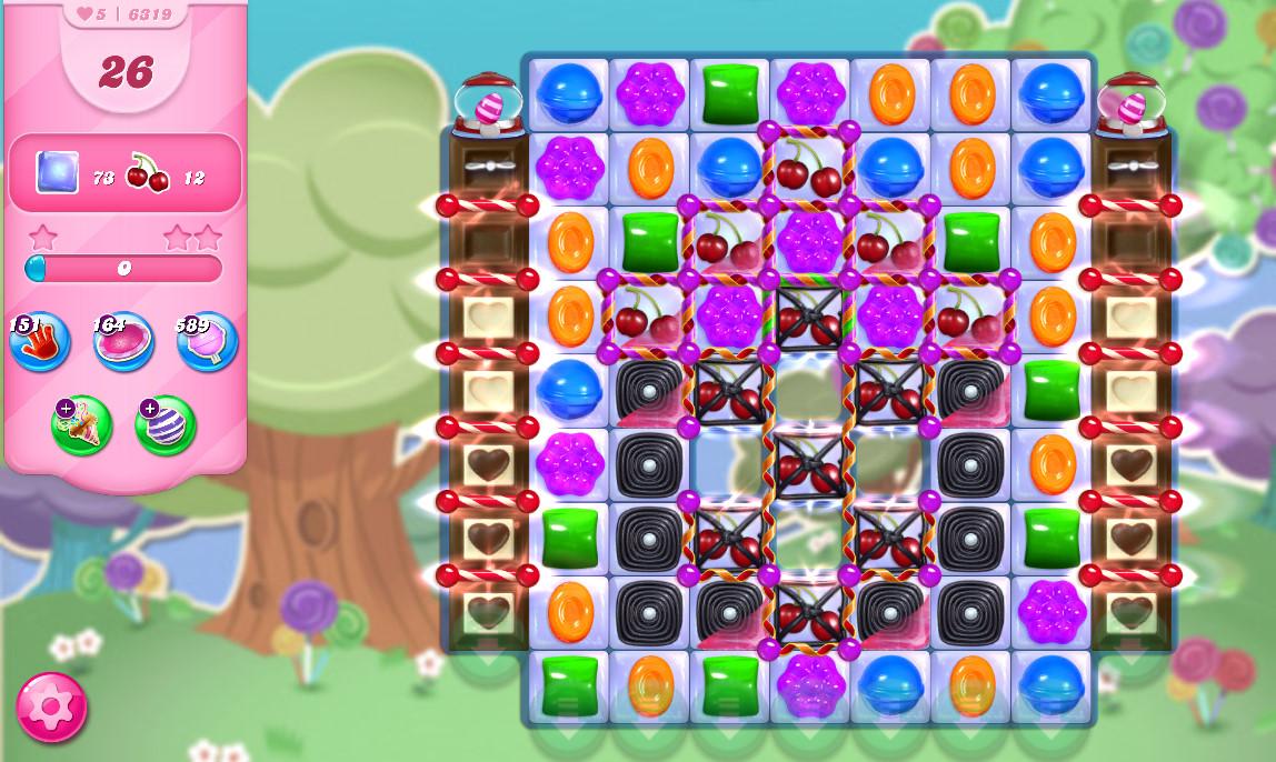 Candy Crush Saga level 6319
