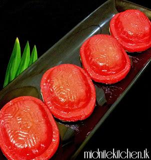 Kue Ku Kue China Ang Ku Kueh Kue Tradisional Jajanan Pasar Khas Indonesia
