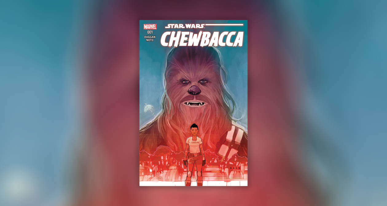Chewbacca comic #1 Star Wars