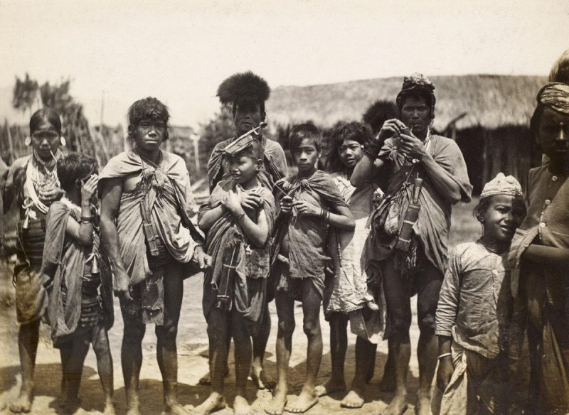 Group of Tribal People - Date Unknown
