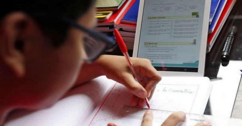 MINEDU: Comprarán más de 840 mil tablets con internet móvil para escolares y más de 97 mil tablets para maestros