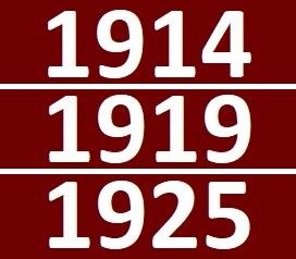 1914-1919-1925