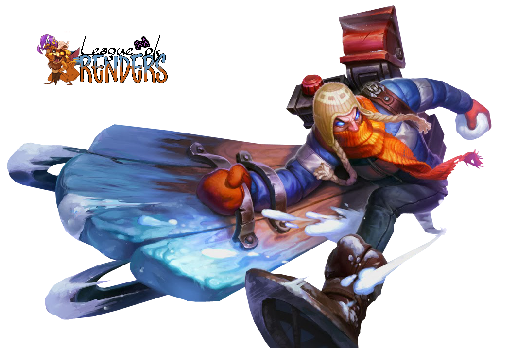 RENDER SKIN Snow Day Singed