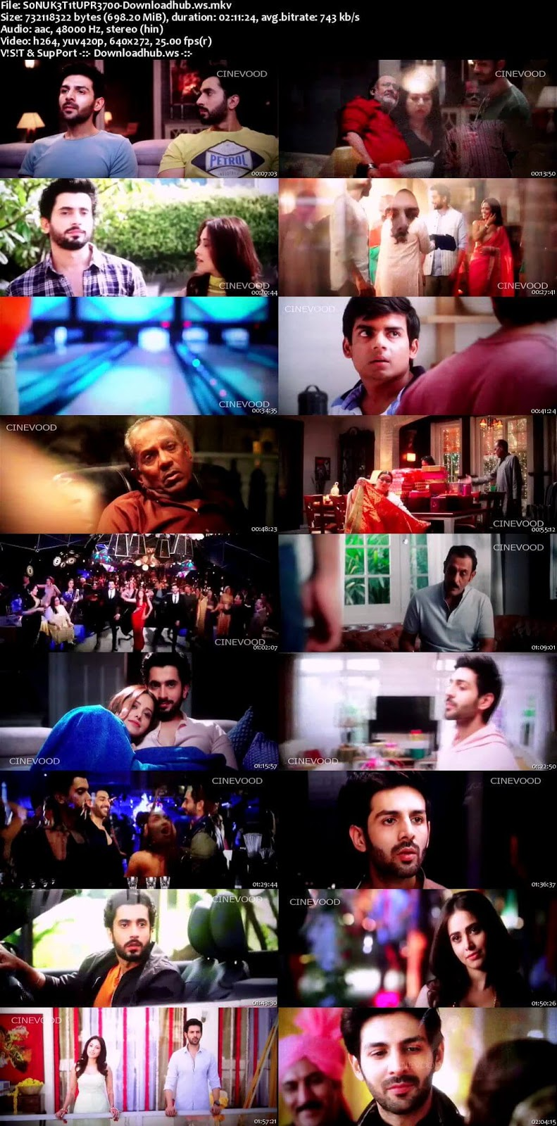 Sonu Ke Titu Ki Sweety 2018 Hindi 700MB Pre-DVDRip x264