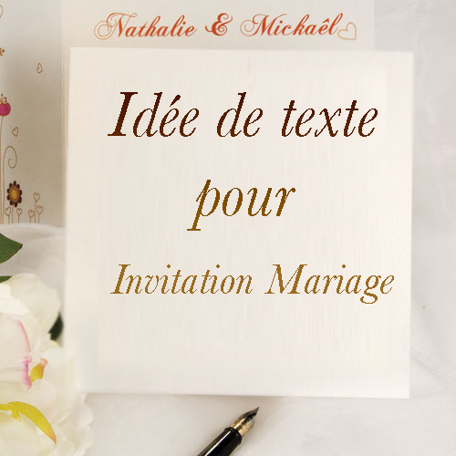id e de texte pour invitation mariage invitation mariage carte mariage texte mariage. Black Bedroom Furniture Sets. Home Design Ideas