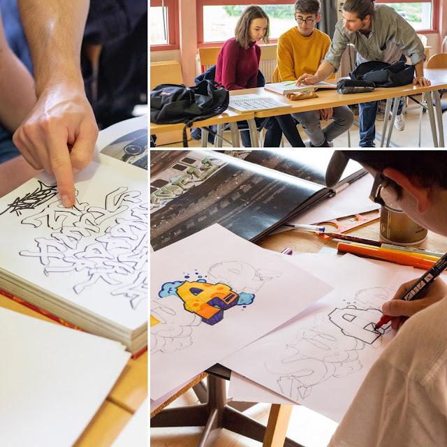 Photo de l'atelier graffiti et street-art à Toulouse