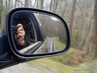 looking back toward NC and ahead into TN