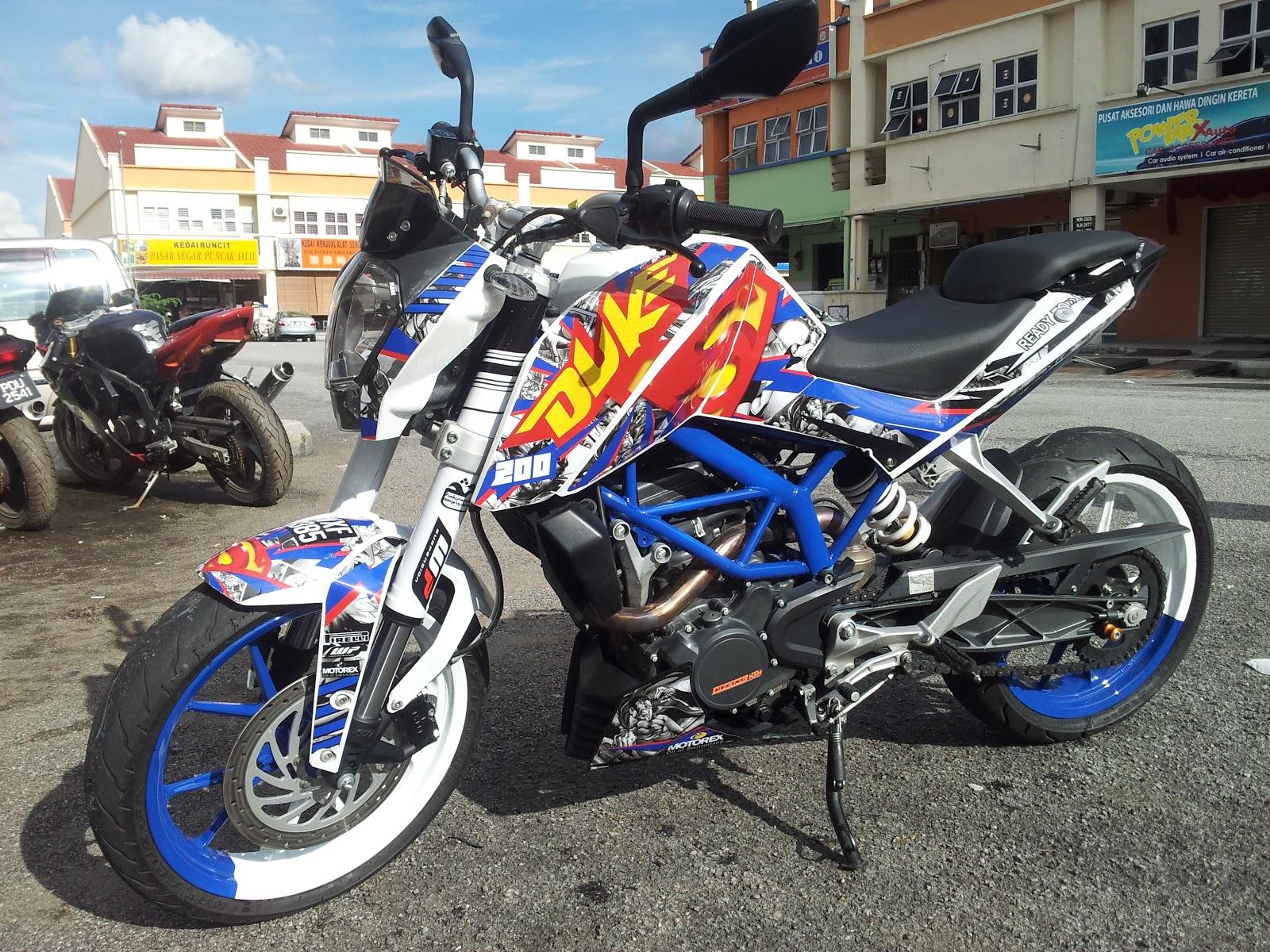 KTM Duke Modified