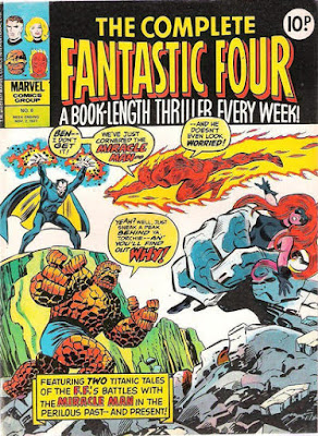 Marvel UK, Complete Fantastic Four #6, the Miracle Man returns