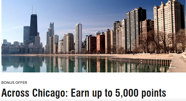 Marriott萬豪旗下芝加哥地區酒店入住最高贈送5000積分(12/31前有效)