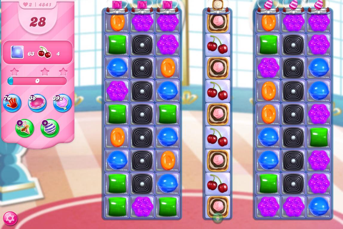 Candy Crush Saga level 4841