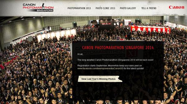 Canon Buka Kontes Fotografi 'Photomarathon Singapore' 2014