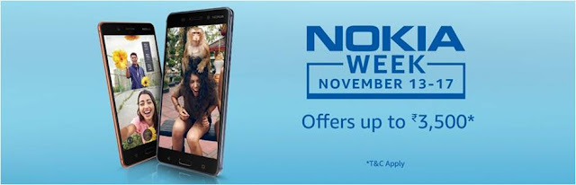 Nokia Week sale on Amazon