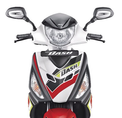 Hero Dash 110cc Scooter front view image