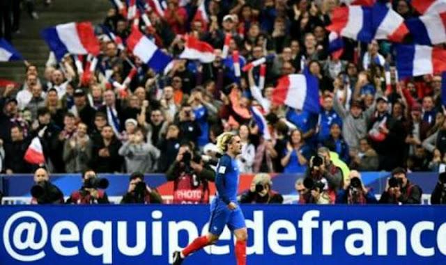 Francis Juara Dunia, Sepak Bola 2018