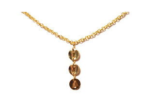 Chipina coin necklace