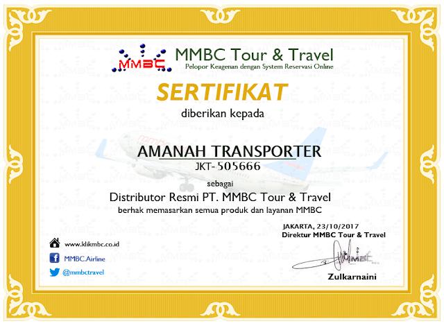 Amanah Transporter Tour Planner 328