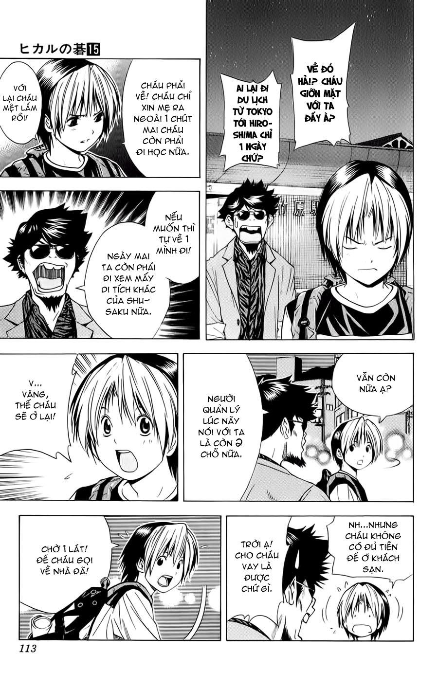 Hikaru No Go hikaru no go chap 126 trang 16