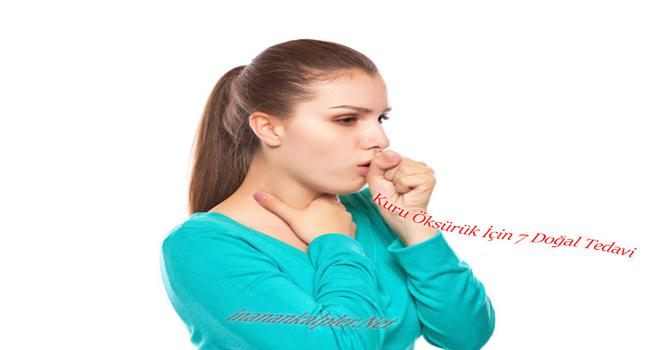 Boğaz Kaşıntısı Ve Kuru Öksürük İçin 7 Doğal Tedavi